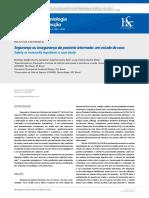 Segurança ou insegurança do paciente internado - um estudo de caso