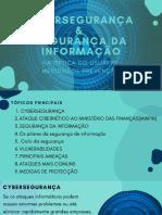 CYBERSEGURANÇA & SEGURANÇA DA INFORMAÇÃO (1)