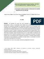 PROCESSO DE SEPARAÇÃO DA FRAÇÃO LIPÍDICA DURANTE A PRODUÇÃO DE CORANTE HIDROSSOLÚVEL DE URUCUM