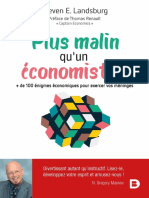 Plus Malin Qu'Un Economiste