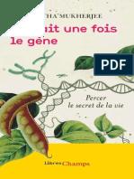 Il Etait Une Fois Le Gene