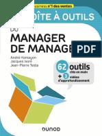 La Boite à Outils Du Manager de Managers