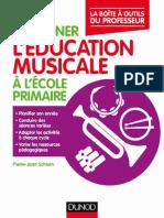 Enseigner l'Education Musicale à l'Ecole Primaire