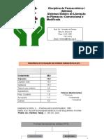 Formas Farmacêuticas Sólidas, Comprimidos Prof Osvaldo (Parte 1a)
