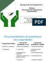 Formas Farmacêuticas Sólidas _comprimidos Parte 2
