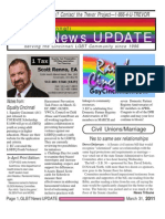GLBT News UPDATE March 31 11 e.mailer