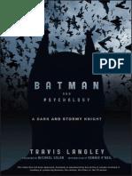 Batman e Sua Psicologia
