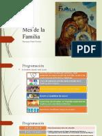presentación Mes de la Familia