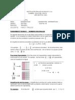 Guia No.09 Tercer Periodo - Matematicas Septimo