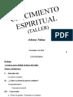 12.- TALLER CRECIMIENTO ESPIRITUAL