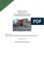 ENSAYO Análisis de la Realidad social de Guatemala