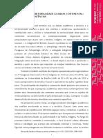 Território e Territorialidade Guarani Continentalconflitos e Resistências