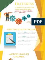 Estrategias Para La Prevencion de Impactos Ambientales y Accidentes Laborales