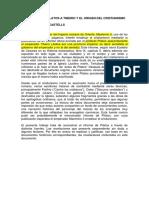 Cartas Del Prefecto Lucio Poncio Pilatos