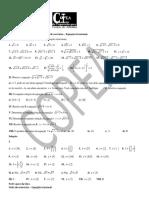 Ficha de exercícios - Equação irracional (parte 3)