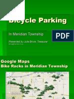 Bicycle Parking In Meridian Twp. - Julie Brixie