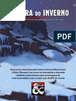 A Garra Do Inverno D&D 5e