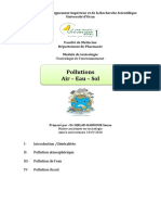 cours pollutions 2020 Dr Djelad