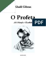 Khalil Gibran - O Profeta
