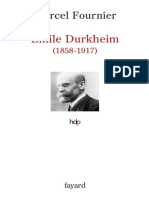 (Histoire de la pensée) Durkheim, Emile_Fournier, Marcel - Emile Durkheim_ 1858-1917-Fayard (2007)