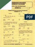 Aptitud matemática - Primer repaso