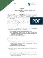 Aviso - Concessão de Equiparação a Bolseiro – Ano Escolar 2011_2012