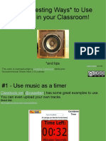 30 Interesting Ways to Use Audio in Your Classroom