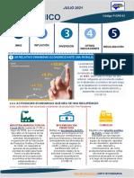 Boletín Económico Julio 2021