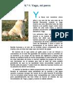 Lectura Yago Mi Perro