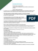 PRÁCTICA 1. Seminario concepto de Psicología