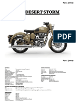 Classic 500 Desert Storm Specifications