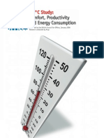 24 Degrees - Confort Productivity and energy Consuption