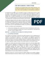 Les Fichiers  YDMAJ - ANALYSE DES MARGES