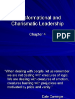Chapter 4 Transformational and Charismatic Leadership