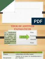Presentación ADITIVOS ENZIMATICOS