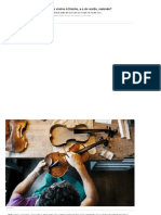 Por que o buraco do violino é fininho, e o do violão, redondo