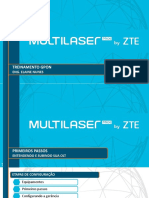 Multilaser PRO by ZTE -CONFIGURAÇÃO OLT