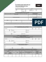 Solicitud de Actualización de Información Legal - Formato Excel