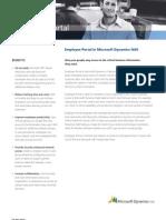 Employee Portal in Microsoft Dynamics NAV