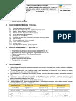 IMP-CP09-01 MANTENIMIENTO PREVENTIVO DE JUMBO DE PERFORACION TALADRO LARGO