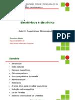Aula10 - Magnetismo e Eletromagnetismo