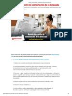 Modelo de escrito de contestación de la demanda _ LP