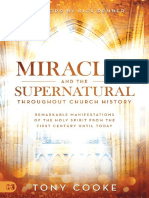 Miracles and the Supernatural Throughout Church History by Tony Cooke Cooke T