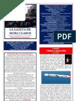 La Gazeta de Mora Claros nº 111 - 01042011