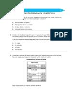 Prueba de Educación Económica y Financiera