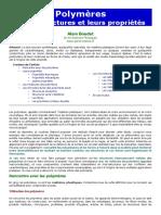 Polymeres Matieres Plastiques Fibres Com