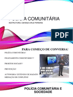 Aula Polícia Comunitária CFS PMPB