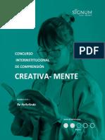 RE ÑOÑOLINDO, Desafío cognitivo cuatro CREATIVA-MENTE 2021
