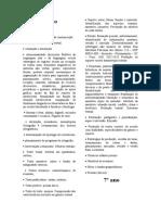 conteúdos de português 6º ao 9º ano