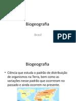 Biogeografia - vegetação brasileira